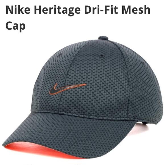 6d1519592b9 Nike Heritage Dri-Fit Mesh Cap. M 580d587ab4188e591308fcf7