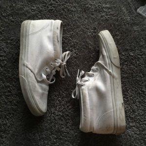 Vintage White Vans Chukka Boots