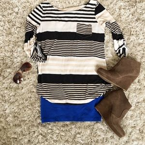 DNA couture Tops - Striped Top