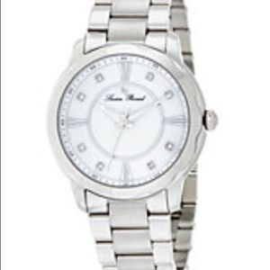 Lucien Piccard Accessories - NWT watch women's crystal mother of pearl face