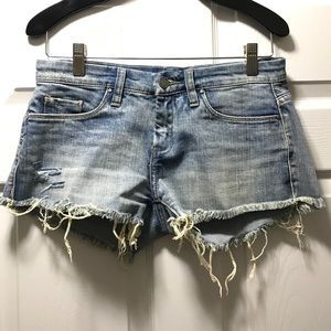 BlankNYC cutoff Denim shorts