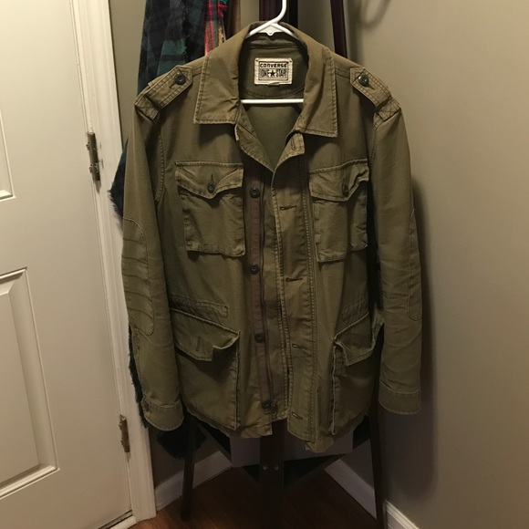 8815cf541a4f Converse Other - Converse One Star army fatigue jacket