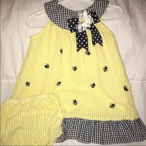 Rare Editions Other - NWOT-Rare edition 18 month dress/bloomer