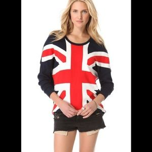 Torn by Ronny Kobo Sweaters - Torn by Ronny Kobo Union Jack sweater