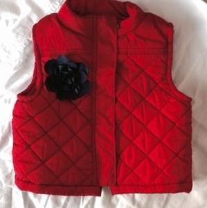 Osh Kosh Red Vest