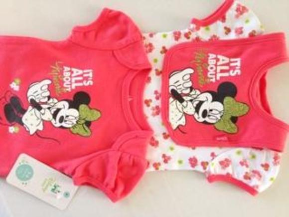 Disney Other - NWT Disney Baby onesies and bib