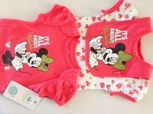 Disney Dresses - NWT Disney Baby onesies and bib