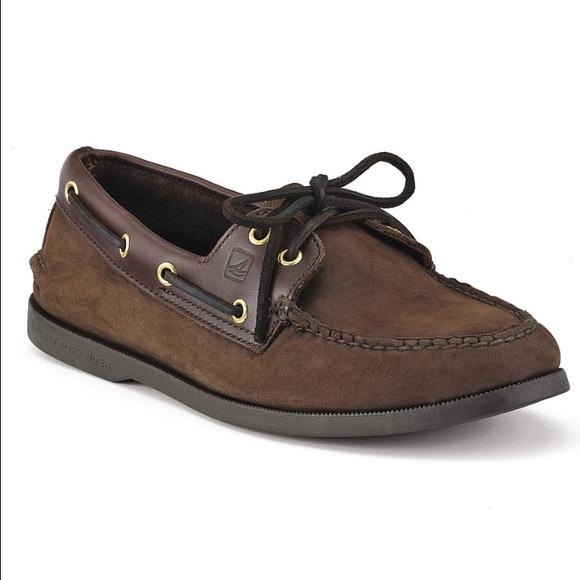 Sperry Mens Two Eye Boat Shoe