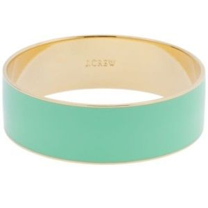 JCREW Mint Green Bangle