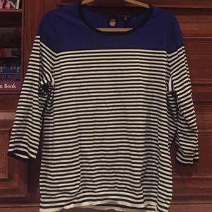 Talbots Striped Sweater