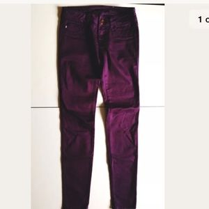 Vigoss Purple Skinny Jeans 25/0