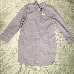 ✨NWT✨J. Crew Striped Button Down Shirt