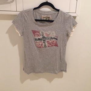 Napapijri Tops - NWT Grey Napapijri t-shirt