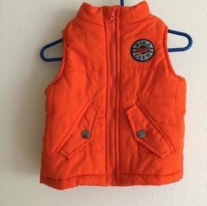 Other - Orange puffer vest