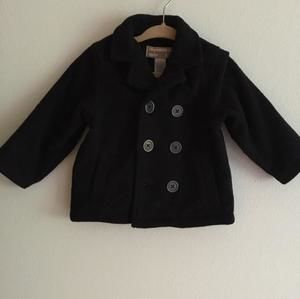 Other - Pea coat in black from kids headquarters