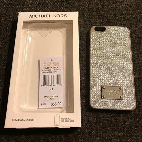 Michael Kors iPhone 6 Plus Cover Swarovski Crystal.  M 580d8afc99086ab5ce09d366. Other Accessories ... 1866a286e1