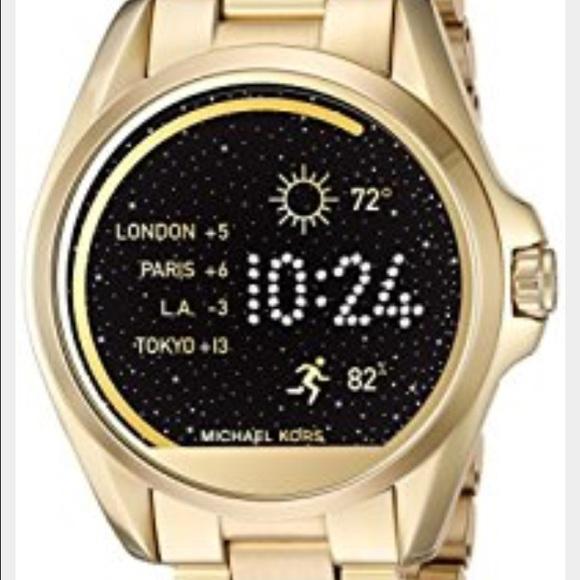 7db734b788a1 Michael Kors MKT5001 Touch Screen Gold Smartwatch