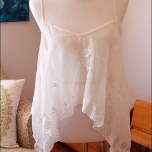 Bershka Tops - White Cami Blouse from a Boutique in Barcelona