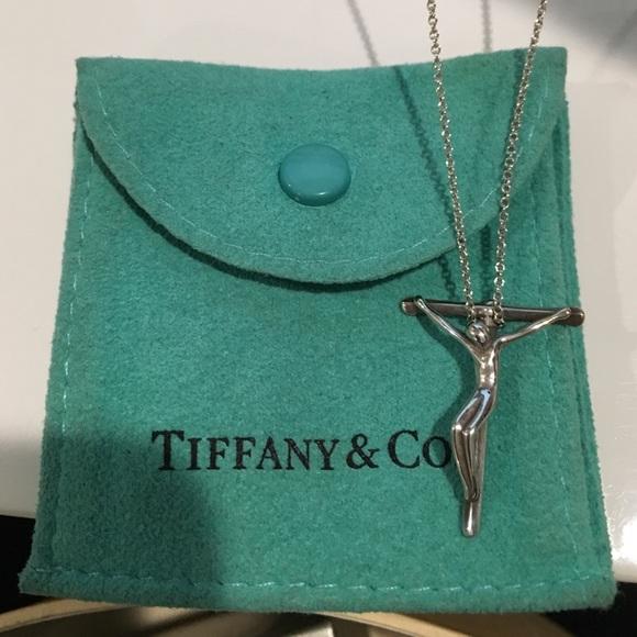 ca4742845 Tiffany & Co Elsa Peretti Crucifix Pendant. M_580d8d98522b450d7d02bb37