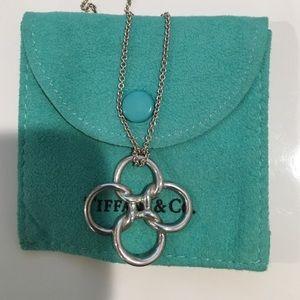 Tiffany & Co Elsa Peretti Quadrifoglio Pendant