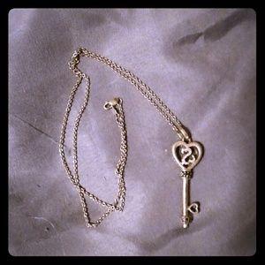 Kay Jewelers Jewelry - Kay jewlers Open heart key necklace