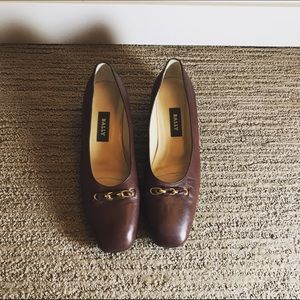 Bally Shoes - Made in Italy💖Bally Dalian brown leather pumps