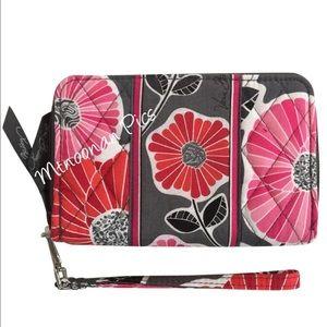 Vera Bradley Handbags - NWT Vera Bradley Zip Around Wallet Cheery Blossoms