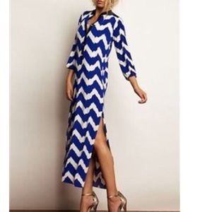 TBags Los Angeles Long sleeve Maxi Dress