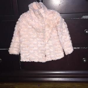 Other - Baby Sara pink rosette jacket