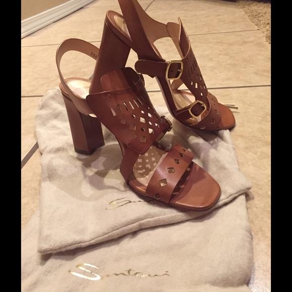Santoni Rose Collection Womens Sandals