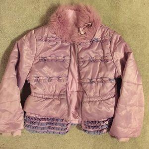 Kate Mack Other - Kate Mack girls ruffle jacket.  Size 5.