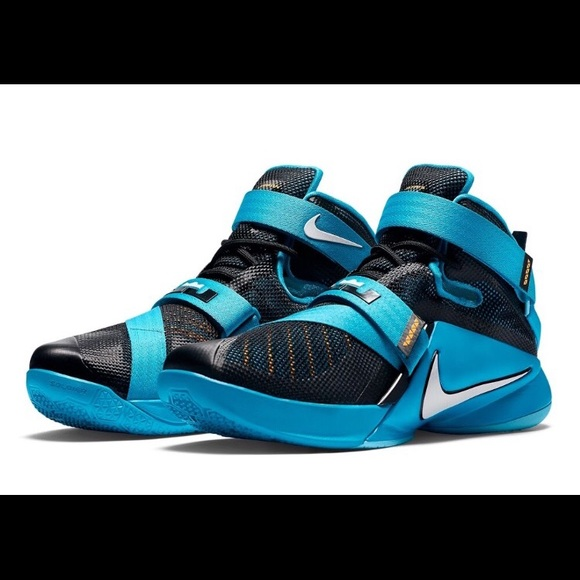 the best attitude 027ee 4309d Nike lebron James soldier 4 blue lagoon