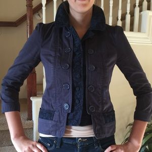 Marc by Marc Jacobs navy short jacket