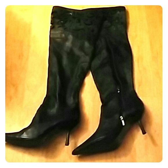 29% off Colin Stuart Shoes - Beautiful soft leather thigh high ...