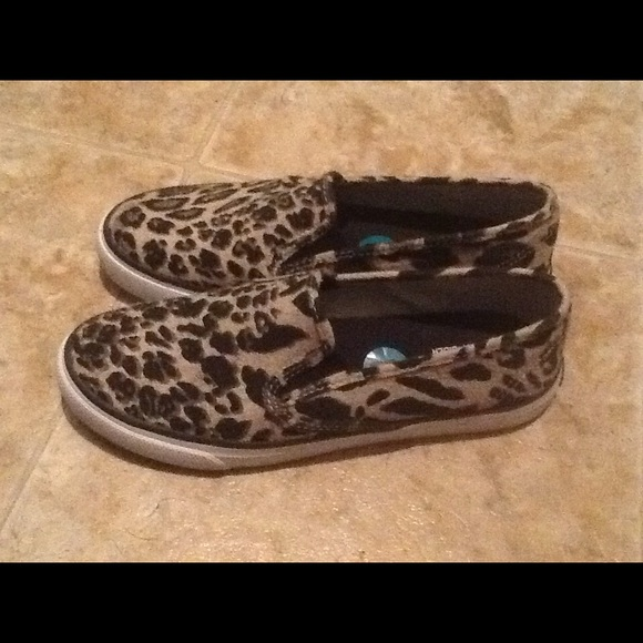 Sperry Topspider Leopard Seaside Slipon