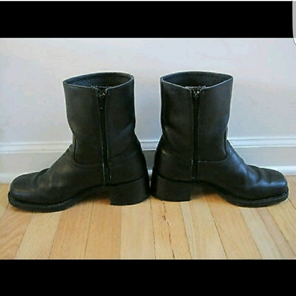 frye excellent frye black leather boots from s