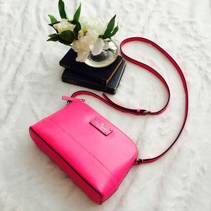 kate spade Hot Pink Purse & Card Holder