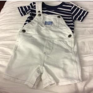 Carters Other - Baby boy carters overalls and t shirt
