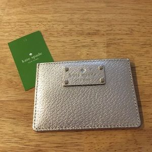 Authentic Kate Spade Graham Wellesley Card Wallet