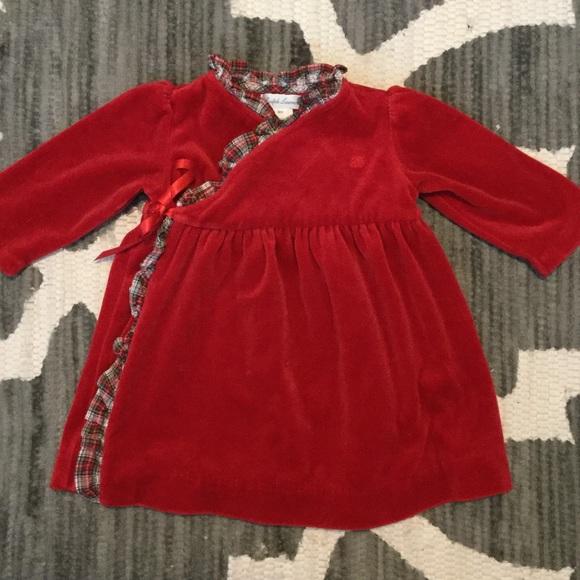 Ralph Lauren Dresses Flash Sale Baby Girl Velvet Dress Poshmark
