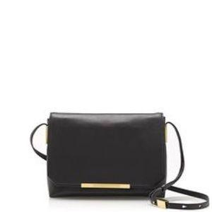 JCrew Claremont Black Cross-body Bag