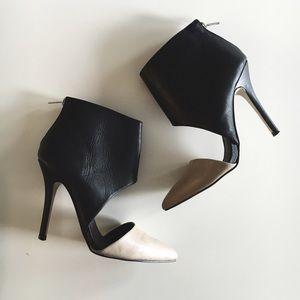 Aldo Nude & Black Heels