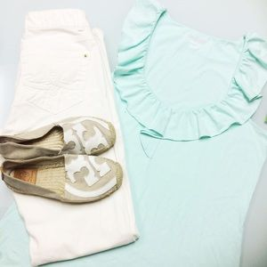 Lilly Pulitzer Tops - Lilly Pulitzer Nadel Top in Sand Bar Blue