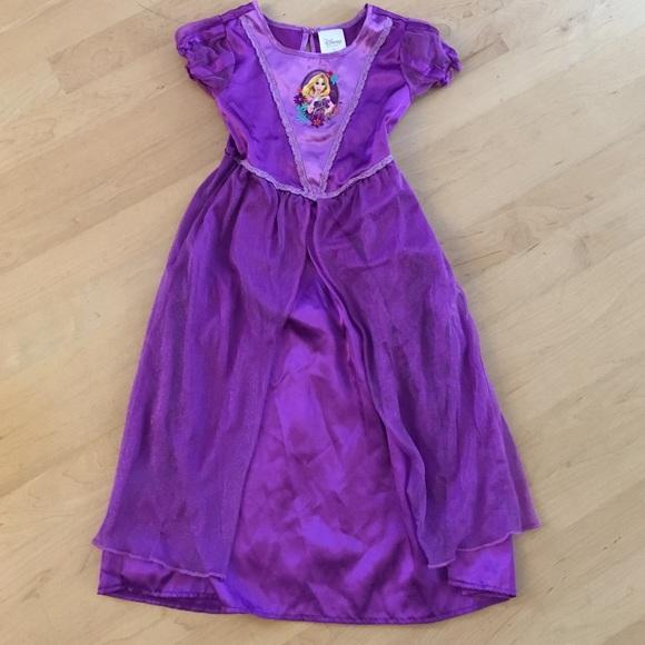 Disney Pajamas | Princess Rapunzel Costume Nightgown | Poshmark