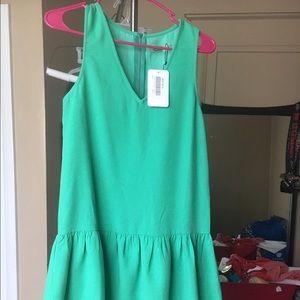 Dresses & Skirts - Green drop waist dress