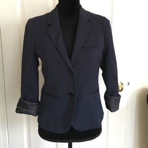 Gap navy blue blazer size 0