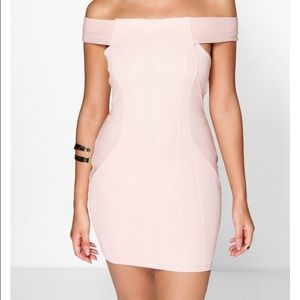 off the shoulder dress(holiday sale price drop)
