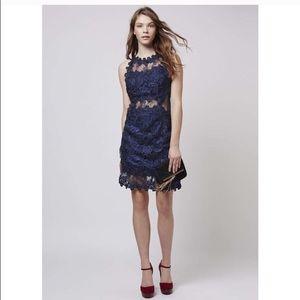 NWOT tags topshop lace dress size 6.