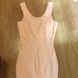 ANGL Dresses & Skirts - Gorgeous Cream Sickle Open Back Dress