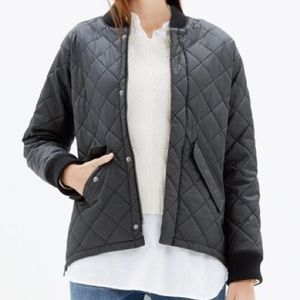 Madewell's Quilted Session Bomber Jacket SMALL